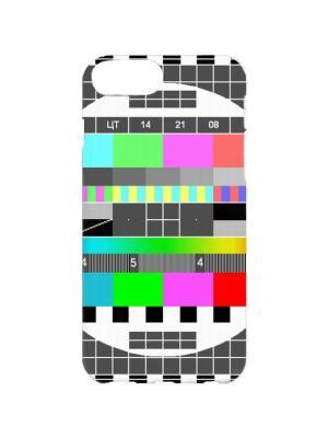 Чехол для iPhone 7Plus ТВ-сетка Арт. 7Plus-170 Chocopony. Цвет: серый, зеленый, красный