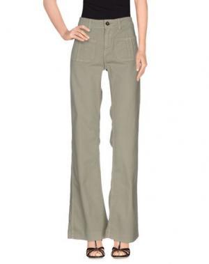 Джинсовые брюки SWILDENS. Цвет: зеленый-милитари