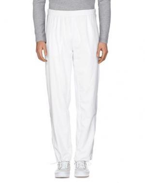 Повседневные брюки BABOLAT. Цвет: белый