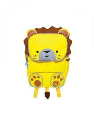 Рюкзак детский Toddlepak Львенок TRUNKI. Цвет: желтый