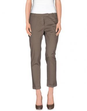 Повседневные брюки QCQC. Цвет: хаки