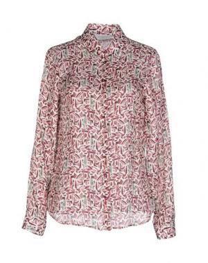Pубашка ZANETTI 1965. Цвет: красно-коричневый