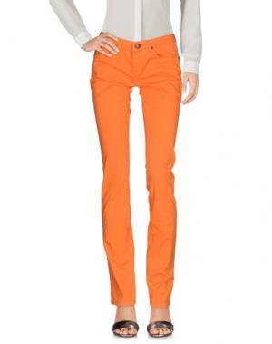 Повседневные брюки PARIS HILTON. Цвет: оранжевый