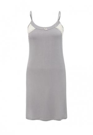 Сорочка ночная Vis-a-Vis. Цвет: серый