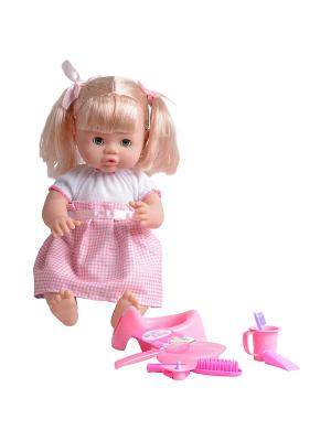 Пупс Дашенька Lisa Jane. Цвет: бледно-розовый, белый, розовый
