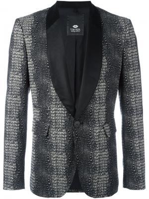 Пиджак Reptile Tom Rebl. Цвет: чёрный