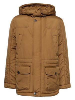 Куртка Finn Flare. Цвет: желтый