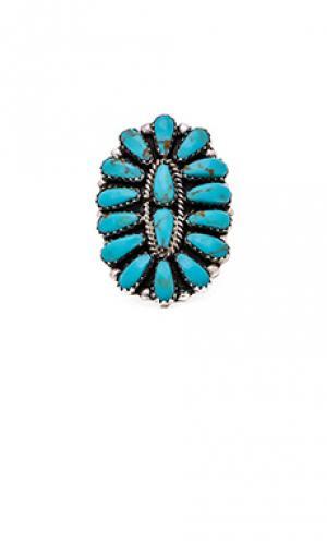 Кольцо sun goddess Natalie B Jewelry. Цвет: металлический серебряный
