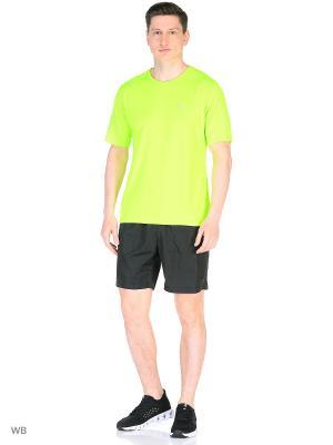 Футболка ANTA. Цвет: зеленый