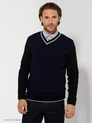 Пуловер Urban fashion for men. Цвет: фиолетовый, черный