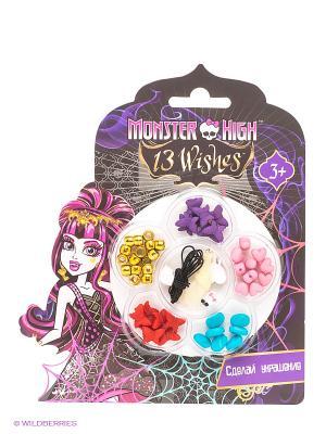 Набор сделай украшение браслеты Monster High Centrum. Цвет: фиолетовый, черный