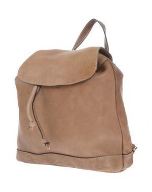 Рюкзаки и сумки на пояс MANIFATTURE CAMPANE. Цвет: хаки