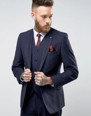 Feraud Шерстяной пиджак-премиум Heritage. Цвет: темно-синий