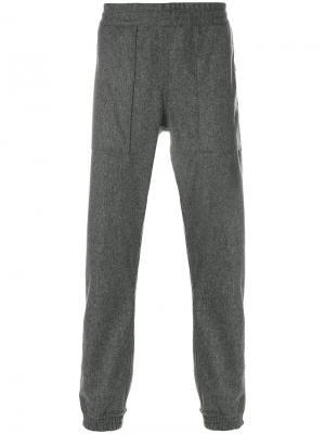 Спортивные брюки в стиле casual Bellerose. Цвет: серый