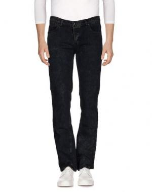 Джинсовые брюки KR3W. Цвет: синий