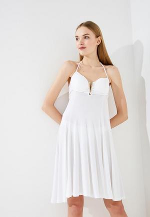 Платье пляжное Twin-Set Simona Barbieri. Цвет: белый