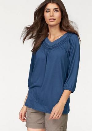 Туника BOYSEN'S. Цвет: джинсовый синий