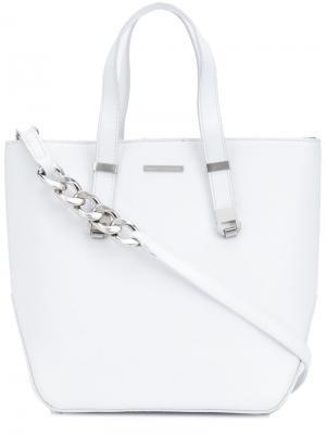 Маленькая сумка-тоут Thomas Wylde. Цвет: белый