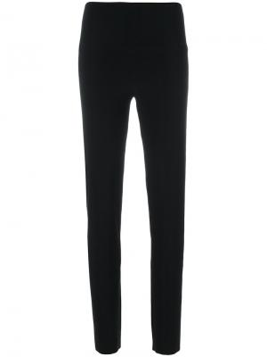 Спортивные брюки Norma Kamali. Цвет: чёрный