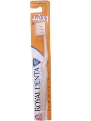 Зубная Щетка С Наночастицами Серебра ROYAL DENTA. Цвет: белый