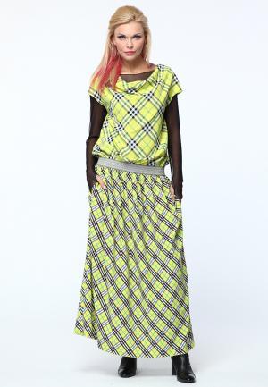 Платье Kata Binska. Цвет: желтый