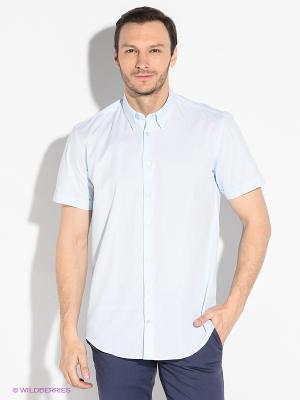 Рубашка Alfred Muller. Цвет: светло-голубой