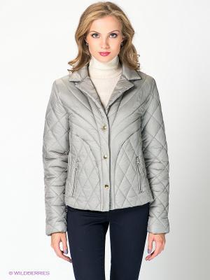 Куртка QUIOSQUE. Цвет: светло-серый