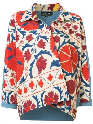 Boxy wrap jacket All Things Mochi. Цвет: белый