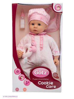 Кукла Малыш Cookie, голубые глаза GOTZ. Цвет: бледно-розовый