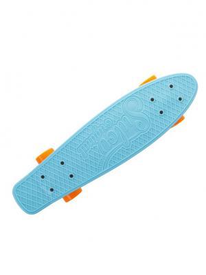 Круизер Sulov Dolce 22, голубой. Цвет: голубой, оранжевый