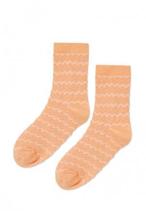 Носки Topshop. Цвет: оранжевый