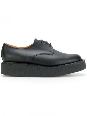 Ботинки Дерби на платформе YMC. Цвет: чёрный