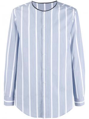 Рубашка в полоску 3.1 Phillip Lim. Цвет: синий