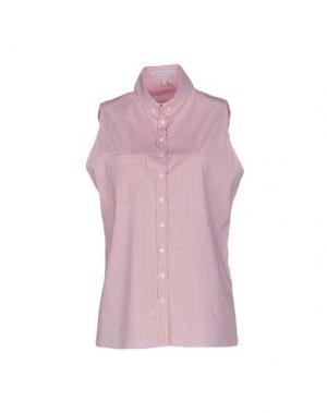 Pубашка WALTER VOULAZ. Цвет: кирпично-красный