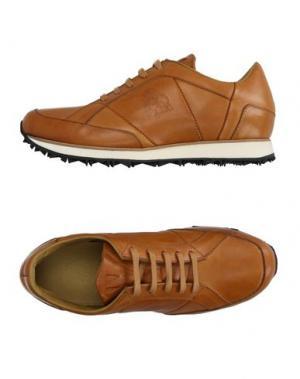 Низкие кеды и кроссовки MR.HARE. Цвет: желто-коричневый