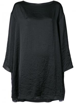 Oversized tunic dress The Row. Цвет: чёрный