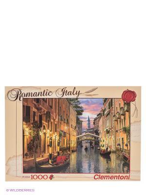 Пазл Доминик Дэвисон Венеция Clementoni. Цвет: бежевый, красный, коричневый