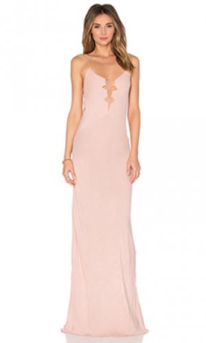 Платье brawa Acacia Swimwear. Цвет: румянец