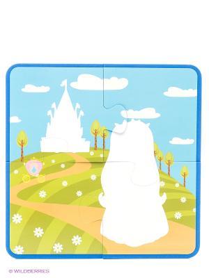 Принцесса: водораскраски-пазлы Феникс-Премьер. Цвет: белый