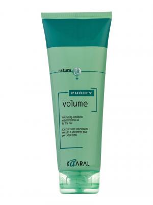 Purify Кондиционер для тонких волос Volume Conditioner 250мл. Kaaral. Цвет: светло-зеленый