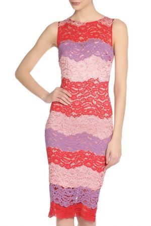 Платье PAPER DOLLS. Цвет: multi
