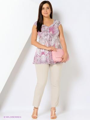 Блузка Emi Filini. Цвет: розовый