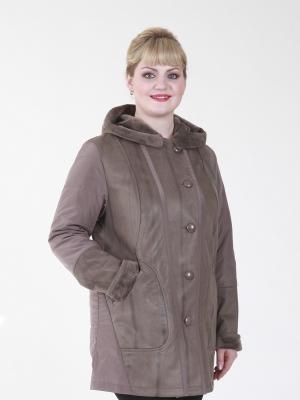 Пальто Руфина VIKO. Цвет: светло-коричневый