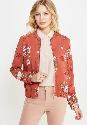 Куртка Sela. Цвет: коралловый