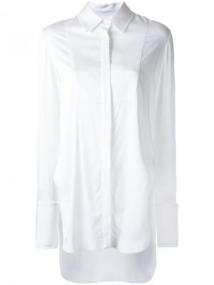 Рубашка-смокинг Manning Cartell. Цвет: белый