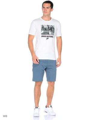 Шорты M NSW AV15 FLC SHORT Nike. Цвет: серо-голубой