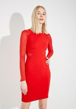 Платье French Connection. Цвет: красный