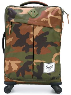 Чемодан Highland Luggage Herschel Supply Co.. Цвет: зелёный