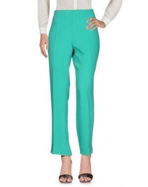 Повседневные брюки EDAS. Цвет: зеленый