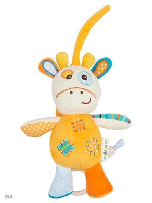 Музыкальная подвеска Жирафик Дэнни Жирафики. Цвет: голубой, желтый, коричневый, бежевый